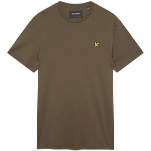 LYLE AND SCOTT T-SHIRT OLIVE