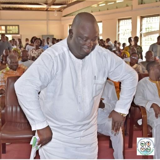 Maxwell Quophy Blagodzi, Deputy Volta Regional Minister