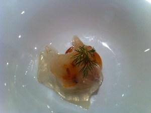 Bagrir porro-llagosti - vel de cansalada