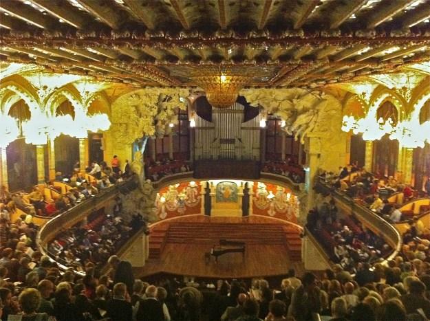 Palau de la Musica - des de les nostres butaques