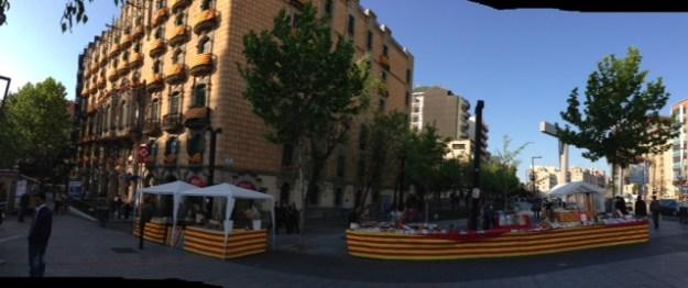 Sant Jordi 2013 - Lesseps