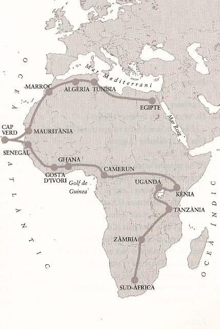 Aixo no es Africa - Ruta