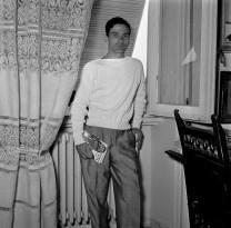 Pasolini al seu pis de Monteverde Nouvo, via Fontelana, 86 - 3