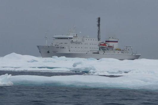 vaixell oceanogràfic rus l'Akademik Ioffe