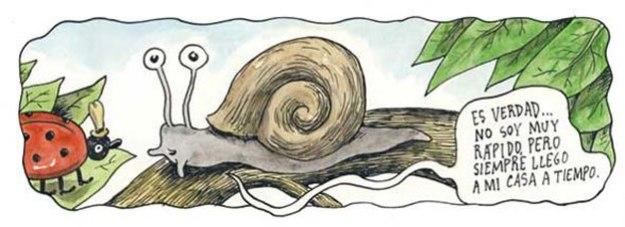 Cargol del caricaturista argenti Liniers