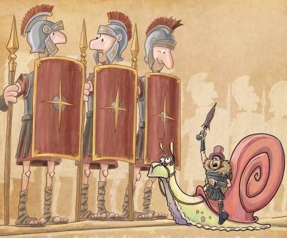 Gladiadors i cargol - 1