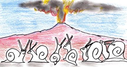 Cargols i volcà