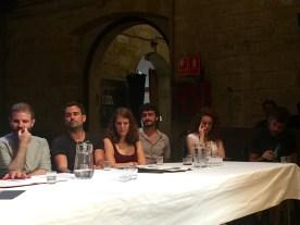 Biblioteca de Catalunya - Roda de premsa 2 - Voltar i Voltar - 1