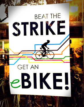 buy an electric bike poster