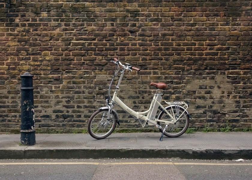 Folding Electric Bike - Metro Low Step White