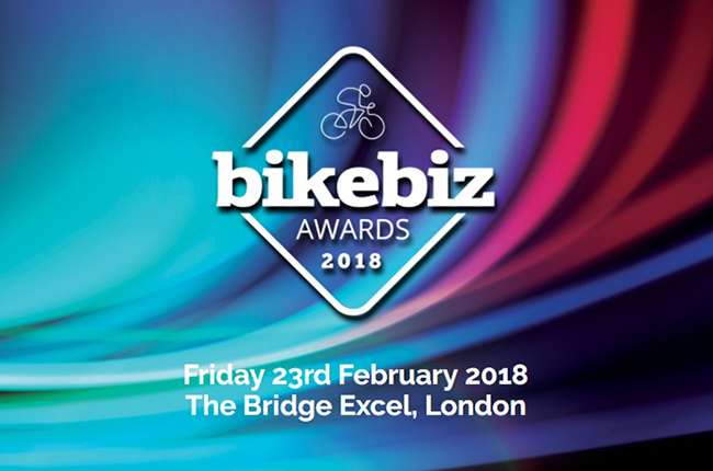 BikeBiz Awards 2018 logo