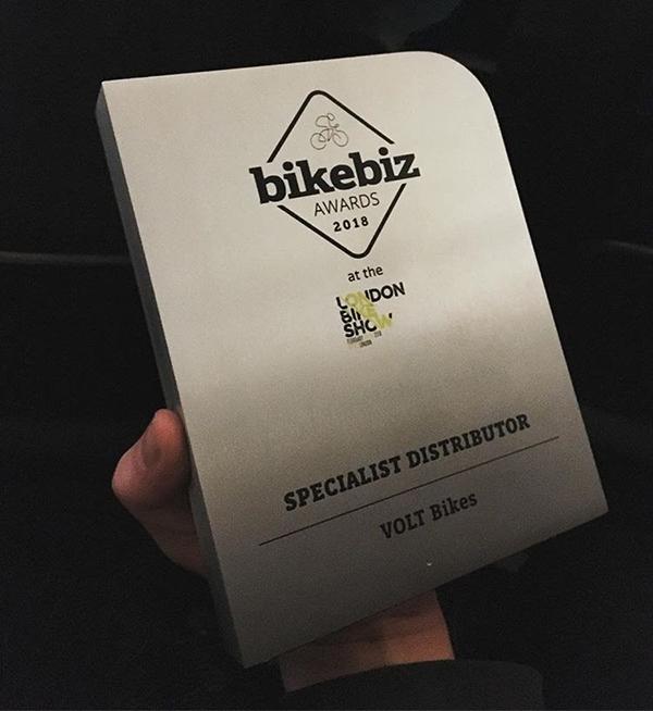 BikeBiz Awards 2018 Specialist Distributor Award