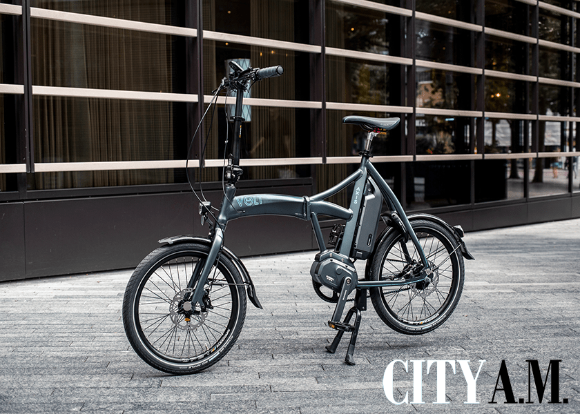 City AM calls Volt Axis the best folding electric bike on the market