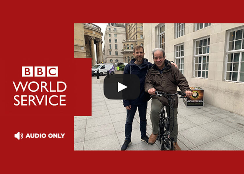 Volt Electric Bikes on BBC Business Matters