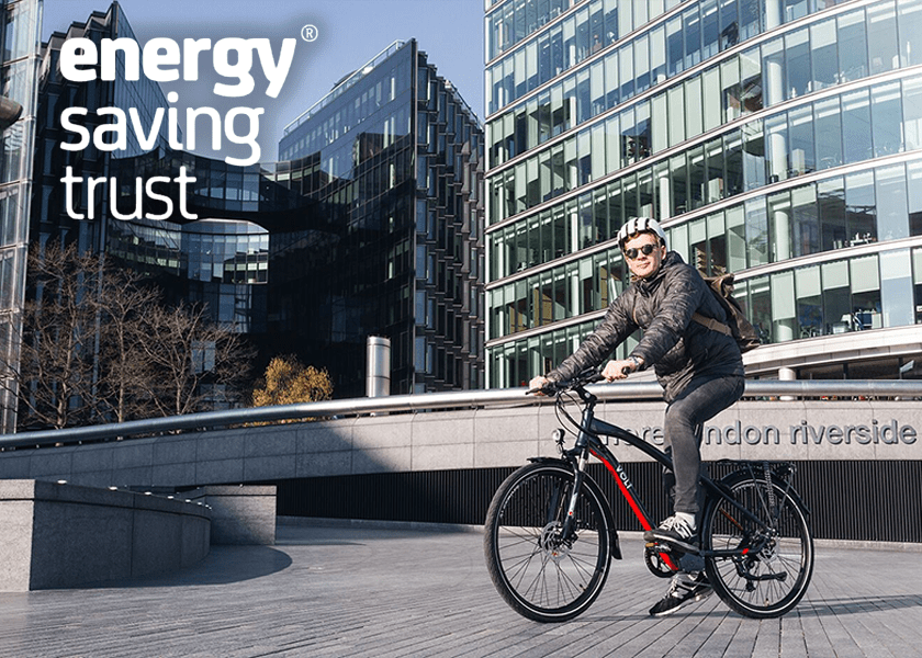 Volt Pulse Hybrid Electric Bike at Tower Bridge