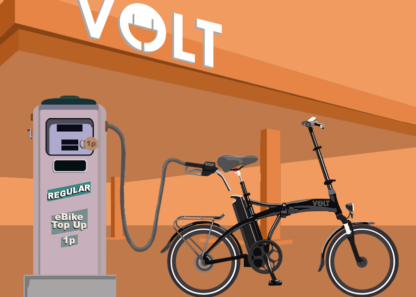 Save money with a Volt Bike