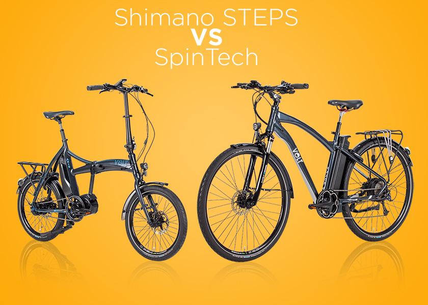 Shimano Steps VS Spintech explained
