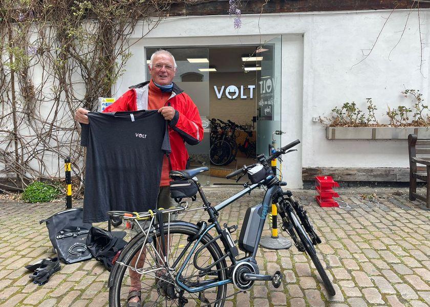 Richard with Volt T-shirt
