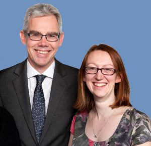 Volterra Partners Paul Buchanan and Ellie Evans