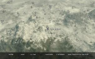 Tower of Mzark - Map Location