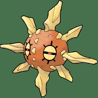 Solrock, the Meteorite Pokémon.