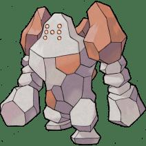 Regirock, the Rock Peak Pokémon.
