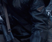Shoulder Sleeve Insignia as seen on U.S. Army Ranger Jim Morita.