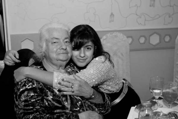 Grandma before Alzheimer's
