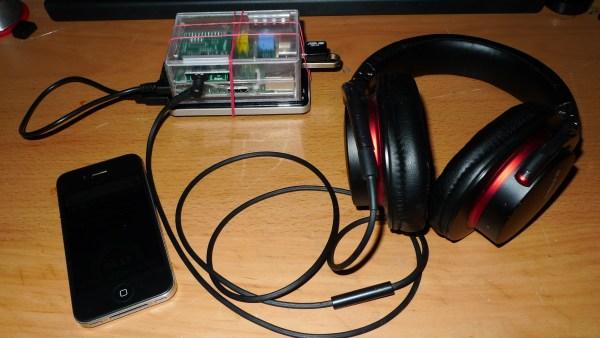 Portable Raspberry Pi audio player