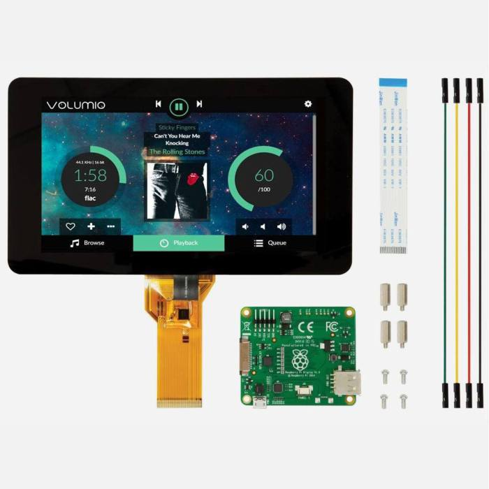 "Raspberry Pi Official 7"" Touchscreen Display"