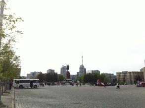 Concentración pro-Rusia. Freedom Square.