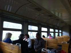 vista del interior del vagón