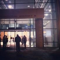 Llegada aeropuerto Kharkiv
