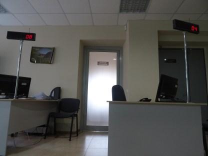 Interior de la nueva oficina, casi sin estrenar