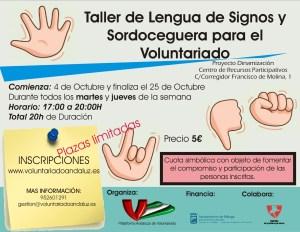 cartel-taller-lenguaje-de-signos-y-sordoceguera-para-el-voluntariado-2016-001