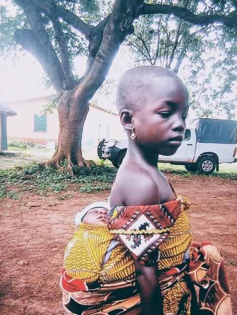 Niña en Benín
