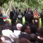 At the US Consul General's Residence