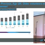 Older volunteers make great sense – Bryan Precious- Age UK