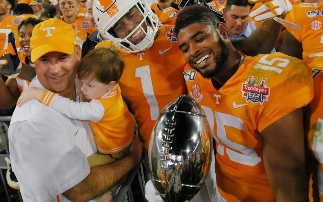 A Story Of Redemption: Tennessee's Miraculous Road To 8 Wins