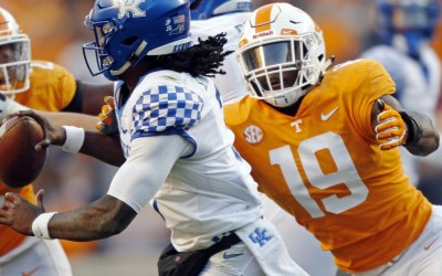 Darrell Taylor Becomes First Vol Selected in 2020 NFL Draft