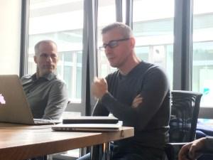 Denis Richard and Jochen Fritz - Volunteers' Help Friends
