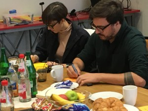 Natalie Partschev and Philipp Schäfer - Volunteers' Help Friends