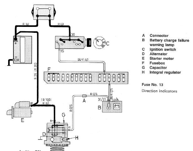 Alternator Installation And Cluster Lamp (idiot Light