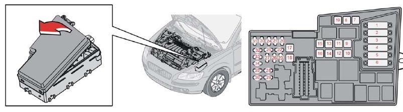 2005 Pump V70 Fuel Volvo Relay
