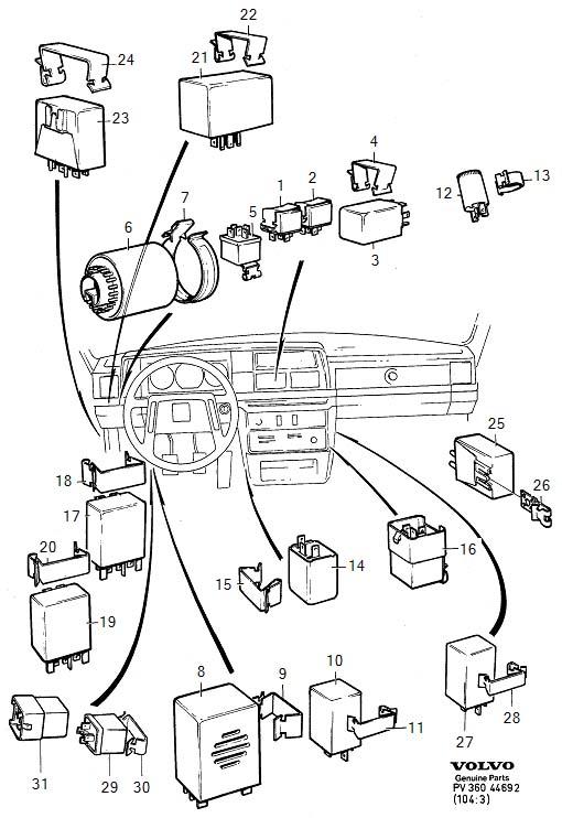 Vacuum Hose Diagram Volvo 240