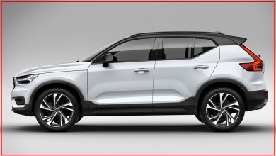 2021 Volvo XC40 Previewed Design