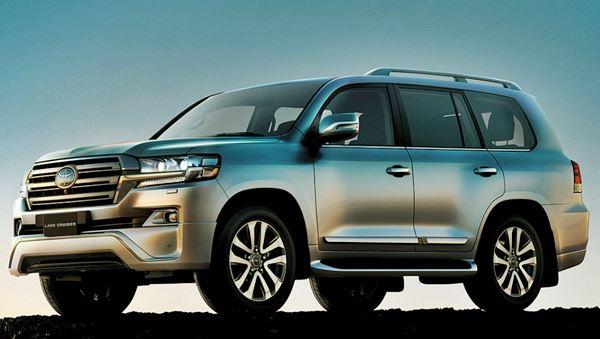 Exterior 2022 Toyota Land Cruiser