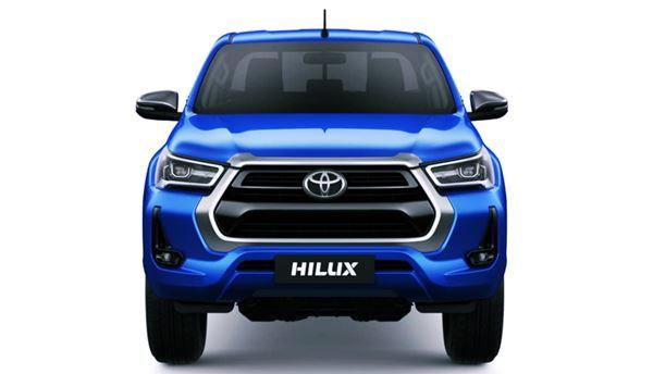 Toyota Hilux 2022 Facelift Exterior