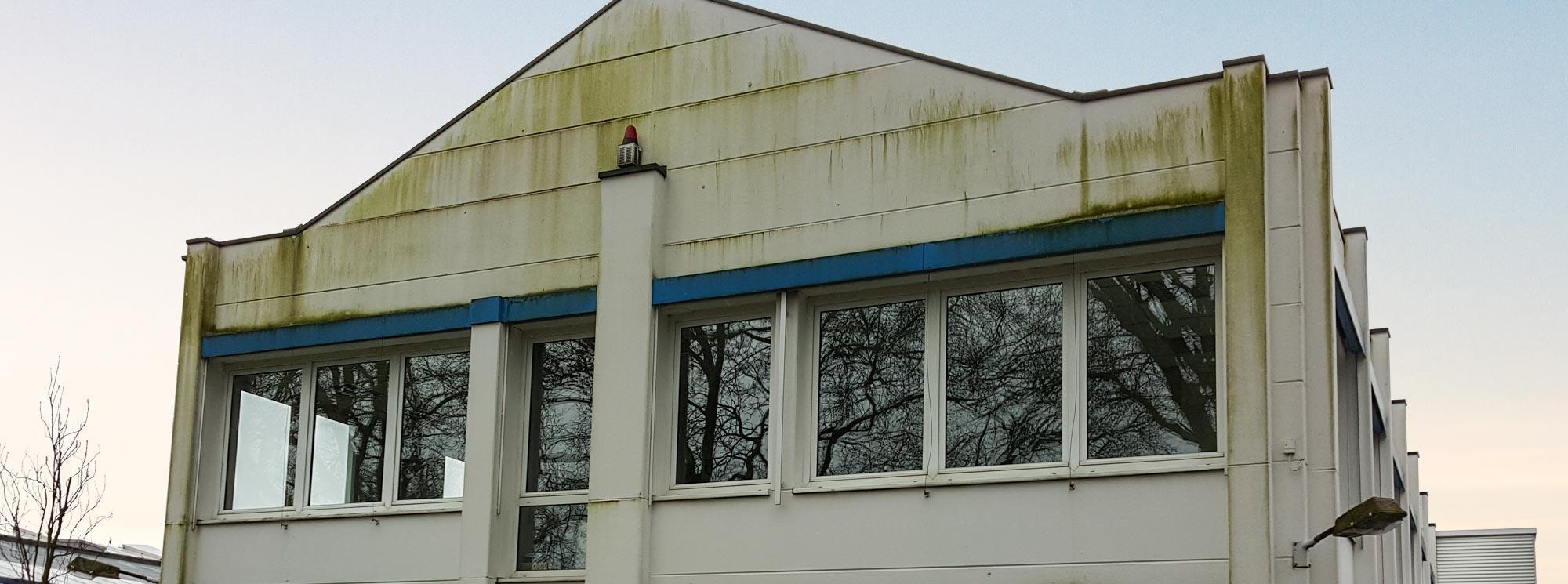 Slide Fassadenreinigung