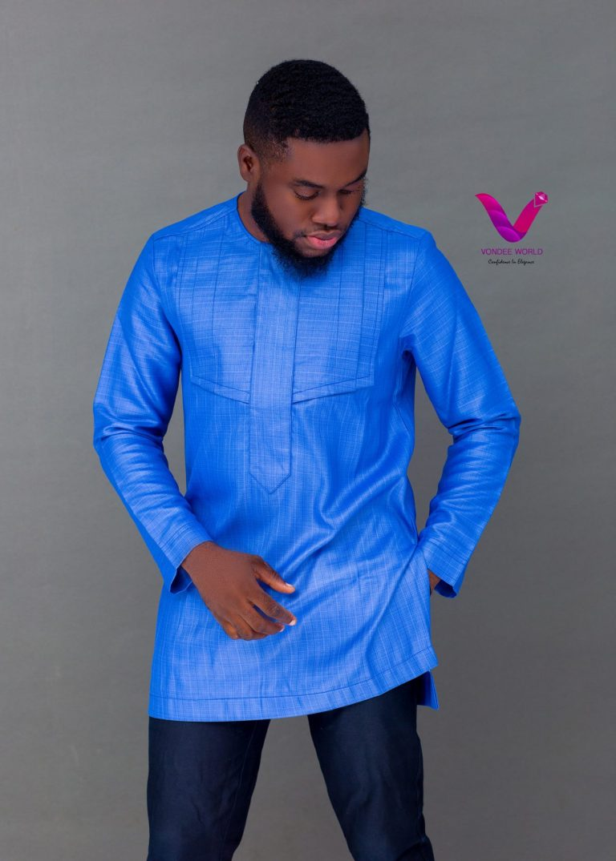 vondeeworld long sleeves for men, african print shirt for men